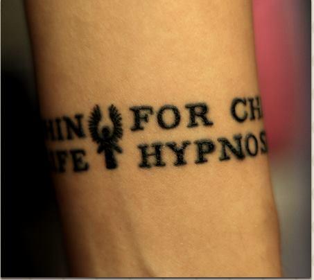 Hypnos tatuering